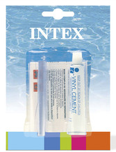 INTEX VINYL REPAIR CEMENT KIT FOR ABOVE GROUND SWIMMING POOL INFLATABLE BOUNCER