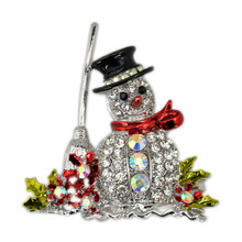 huang neeky 2018 fashion christmas tree brooch pin christmas gifts for families unique exquisite