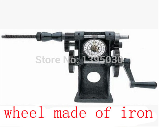New NZ-5 Manual Hand Coil Winding Machine Winder Dual Purpose Manual Coil Winder цена