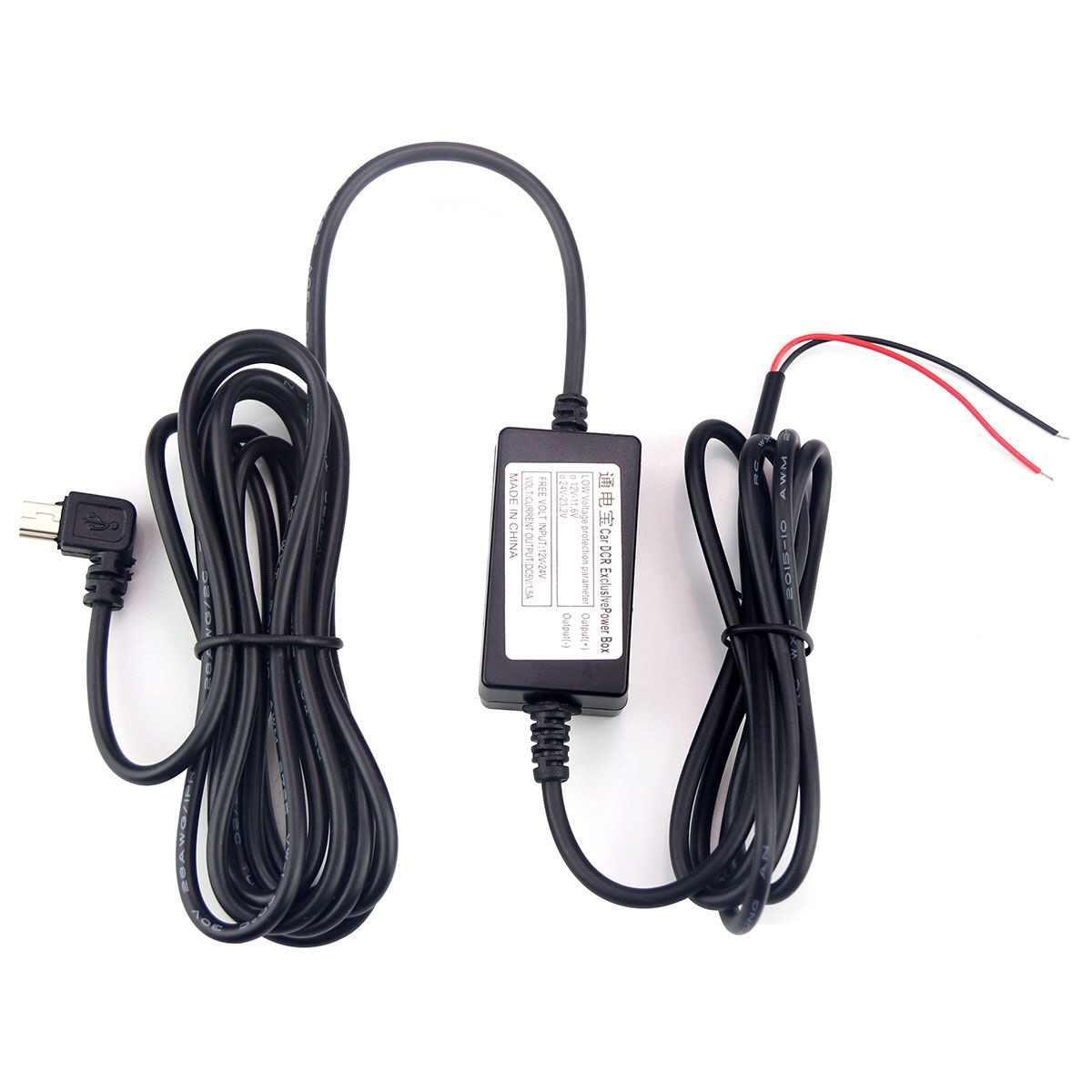 駆動レコーダー降圧ライン電源 12 V 5 V 2.5A ミニ Usb カメラレコーダー DVR 専用電源供給ボックス 24 時間駐車監視