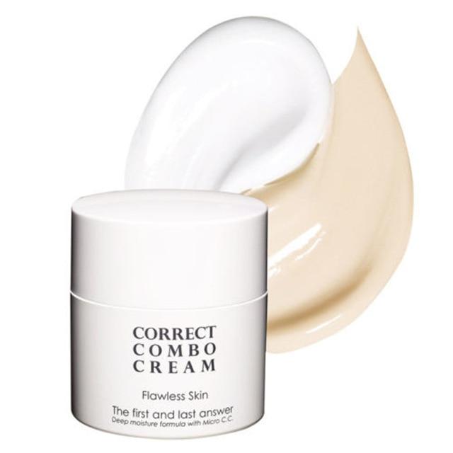 MIZON  Flawless Skin Correct Combo Cream SPF25 PA++ - 35ml Original Korea Face Cream Whitening Moisturizing Facial Combo Cream
