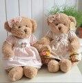 50CM 2pcs/set Couple Teddy Bear Soft Stuffed Plush Doll For Girls Gift Chrismas Gift