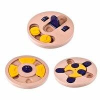 Hund Feeder multifunktionale Pet Lernspielzeug Welpen Puzzle Spielzeug Hund Schüssel