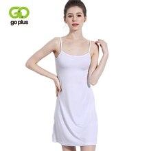 GOPLUS 2019 Summer Sexy High Waist Strap Dress Women Soft Cotton Mini Nightgown Ladies Sleepwear Casual  Vestidos Female