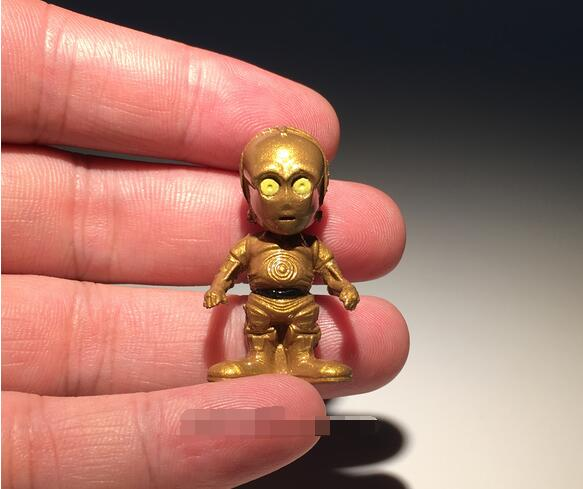 60 шт. 2.5-3.5 см Звездные войны фигурку игрушки Дарт VADE c3po Штурмовик Дарт Мол Цифры игрушки модель для коллекция Подарки