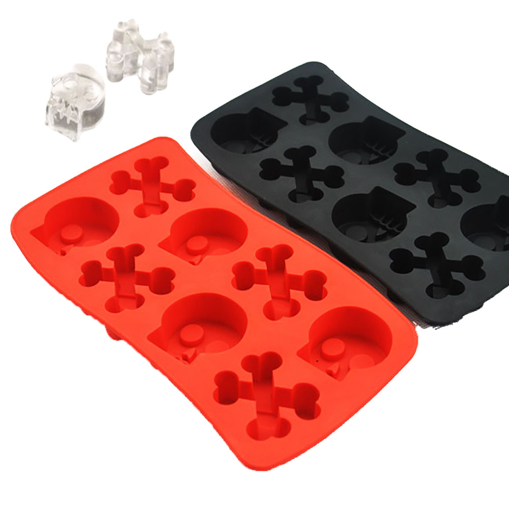 diy halloween skulls new plastic ice cube novelty ice cube tray