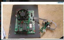 Schneideplotter mainboard verbinden + kabel + schnittstellenkarte mit COM und usb anschluss, vinyle cutter bord, freies verschiffen