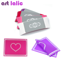 1Set Nail Art Equipment Advanced Silicone Plastic Pillow Hand Holder Cushion Table Mat Pad Foldable Washable