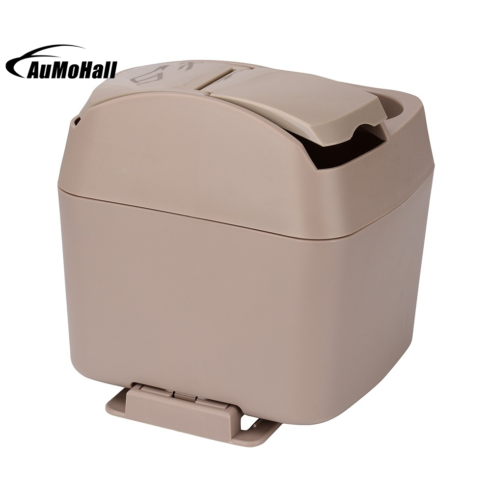Car Styling Interior Accessories Zone Tech Traveling Car Garbage Can Portable Vehicle Trash Bin Rubbish Bin mini soft silicone car trash bin rolling cover type garbage cup dust rubbish box container organizer interior accessories