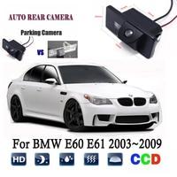 Rear View Camera For BMW E60 E61 2003~2009 CCD Night Vision Backup camera/license plate camera Reverse camera