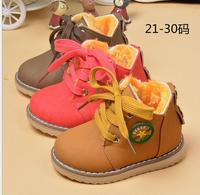 2016 Winter Models New Children S Shoes Wholesale Children S Cotton Shoes Boys Girls Short Boots