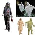 1 PCS Adulto Trajes de Halloween Assustador Zombie Mummy Roupas Cosplay do Vestido Extravagante