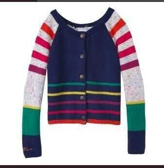 Catimini   Free Shipping 2014 autumn Catimini girl printed long sleeve knitwear  cotton tee children's puff sleeve sweater