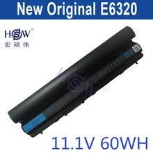 HSW original battery 11.1V 60WH For DeLL Latitude E6120 E6220 E6230 E6320 E6330 E6434s bateria akku
