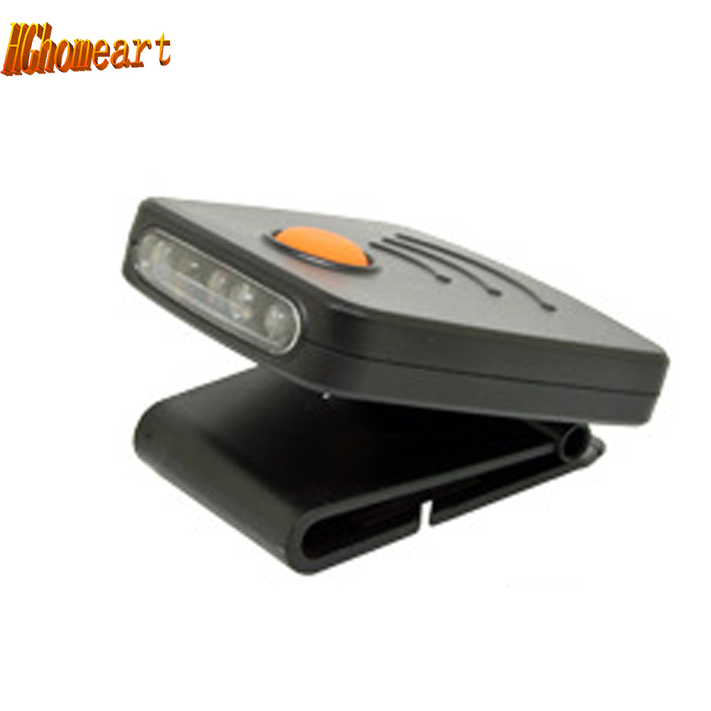 Mini LED induction hat clip lights headlight fishing sensor headlights USB Direct Charging cap headlights lantern