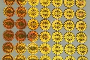 Image 3 - ORIGINELE hologram sticker voor verpakking en producten Kleuren zijn in zilveren en gouden Gratis verzending