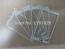 Hot Sale Brand New Front Glass Lens Cover For Samsung Galaxy Note1 N7000 Replacement White Free Shipping With Logo