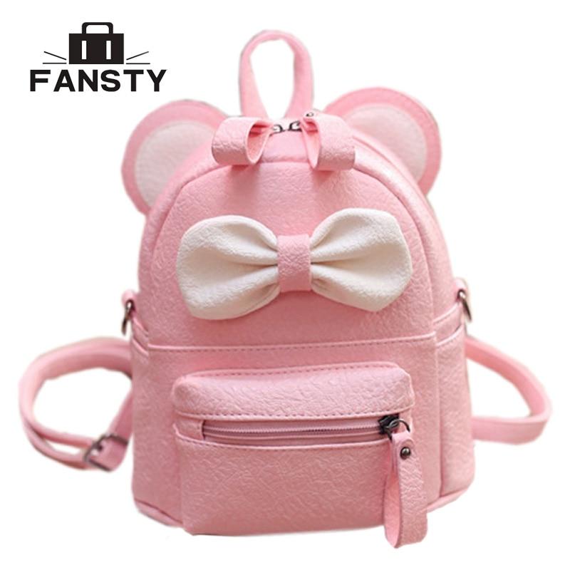 Gepäck & Taschen Nette Rosa Bogen Mini Kleine Kaninchen Bunny Schulter Messenger Bags Crossbody-tasche Für Baby Mädchen Kinder Kinder Tasche