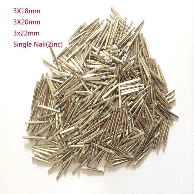 950-970 PCS Dental Laboratory Single Nail Zinc Pin Dental Lab Stone Model Work Diameter 3mm -3 length very good quality