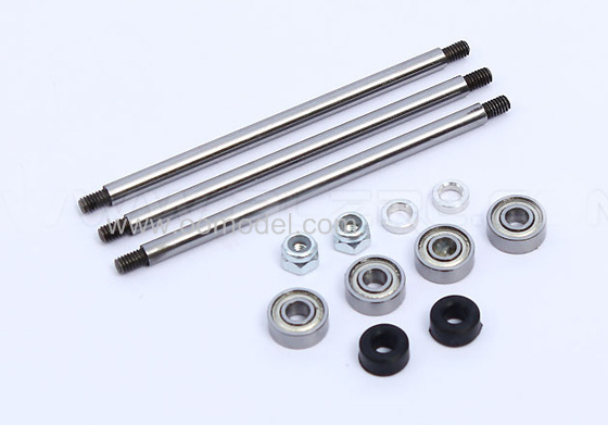 ALZRC 450 Pro Parts Feathering Shaft Upgrade Kit 3mm HP45808 for 450 rc helicopters Free Track