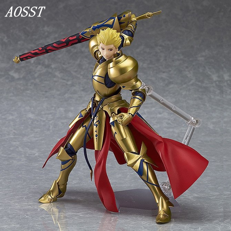 (AOSST) POP Anime Fate/stay night Hero King Archer Figma Limited Edition PVC Action figure Doll Toys Christmas Gifts gonlei anime figma 223 fate stay night archer pvc action figure collectible model toy 15cm s131