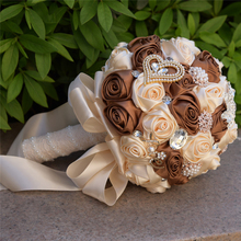 New Colorful wedding bridal bouquet Handmade buque flowers bouquets