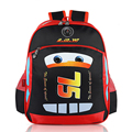2016 Good Quality  Children School Bags Cartoon Car Backpack Baby Toddler Kids Book Bag Kindergarten Rucksacks