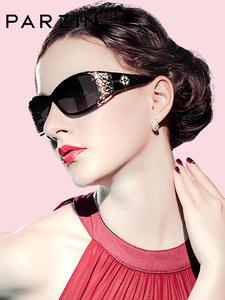 Sunglasses Polarized Lace PARZIN Vintage Women Feminine Ladies Luxury Brand Driving
