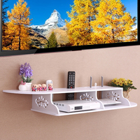 Floating Shelves Chic Wall Mount For CD TV DVD Book Display Storage Modern