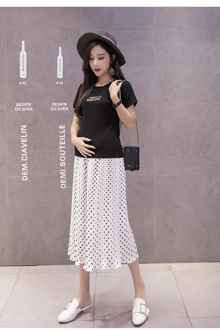 2018 Women's Summer Skirt Pants Print Elastic Waist Wide Leg Pants capris Casual Pants Female Streetwear Ladies Trousers E0562