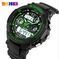 Hombres Del Reloj de moda S Choque Impermeable LED Del Deporte Del Ejército Militar Relojes hombres Estilo de Cuarzo Analógico Reloj Digital relogio masculino