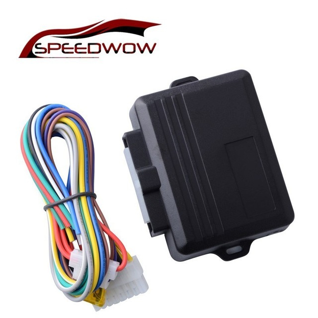 SPEEDWOW Universal Car Power Window Roll Up Closer For 4 Doors Auto Close Windows Remotely Close Windows Module Alarm System 1