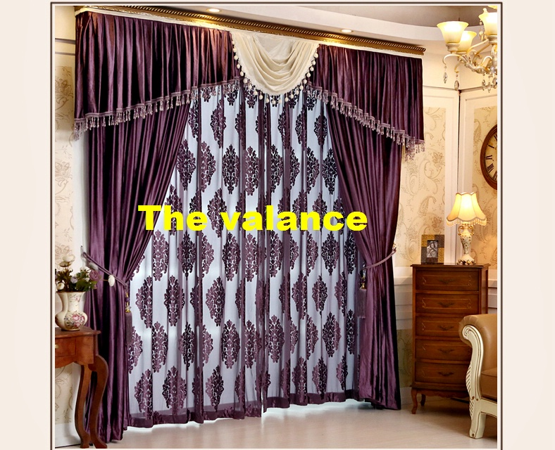 Online Get Cheap Purple Valance -Aliexpress.com | Alibaba Group