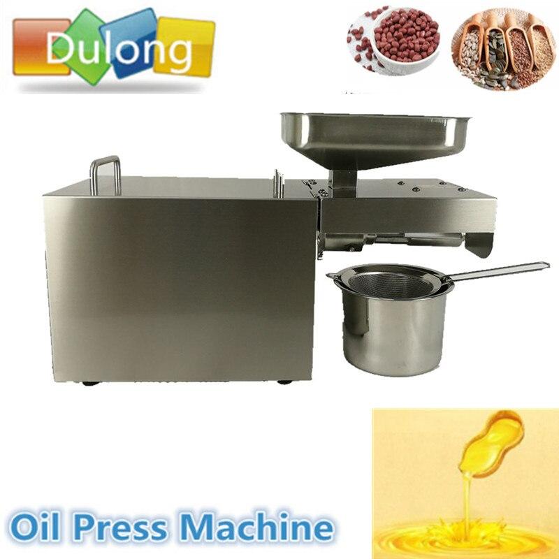 elettrodomestici da cucina commerciale piccolo olio presse macchina piccolo tipo di uso domestico elettrico arachidi olio