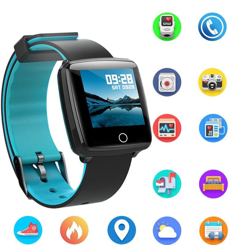 Smart Watches UnermüDlich Bl89 Smart Uhr Ip67 Wasserdichte Fitness Tracker Heart Rate Monitor Blutdruck Frauen Männer Uhr Smartwatch Für Android Ios Einfach Und Leicht Zu Handhaben