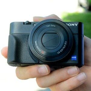 Image 3 - 소니 RX100 RX100II RX100III M4 M5 RX100M6 Rubbery 그립 3M 스티커 가방 카메라 액세서리 용 미끄럼 방지 그립 홀더