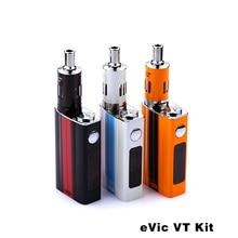 100% Original Joyetech Evic VT Kit With 5000mah Battery Advanced Temperature Control Mod Electronic Cigarette VT-Ni/VT-Ti/VW Mod