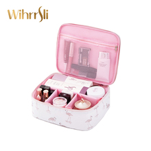 Woman cosmetic bag needed makeup bag beauty case toiletry