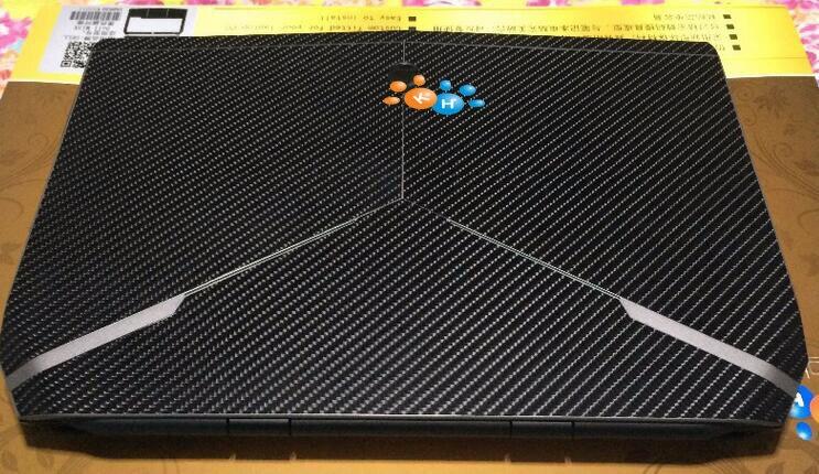 Հատուկ կաշվե ածխածնային մանրաթելից - Նոթբուքի պարագաներ - Լուսանկար 5