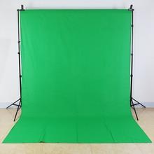 Tax Free para a Rússia Fotografia fundo 3×2 M algodão Muslin Foto backdrops estúdio iluminação Chromakey tela Verde