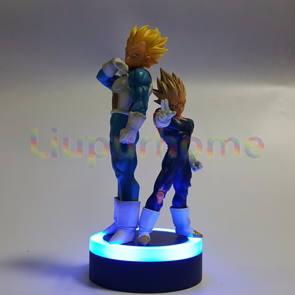 Dragon Ball Z Vegeta Set Led Night Lights Super Saiyan Diy Anime Dragon Ball Super Dbz Led Table Lamp Llampara Led Led Night Lights