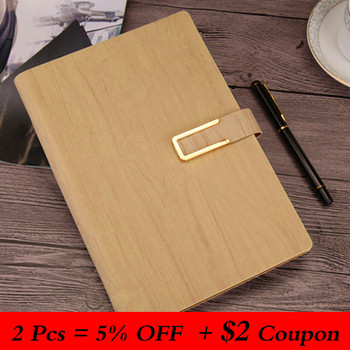 Portable A5 Loose-leaf Notebook PU Imitation Leather Business Stationery Notebook Conference Record Book Planner Notepad Office