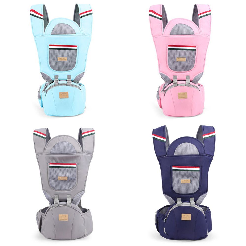 Купить с кэшбэком Baby Kids Hip Seat Carrier Waist Stool Walkers Infant Sling Hold Waist Pouch Wrap Backpack Hip seat Belts