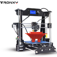 Large Cheap Tronxy 3d Extrusora Printer Quality 2017 X8 Diy Kits Aluminium Software Language Support English