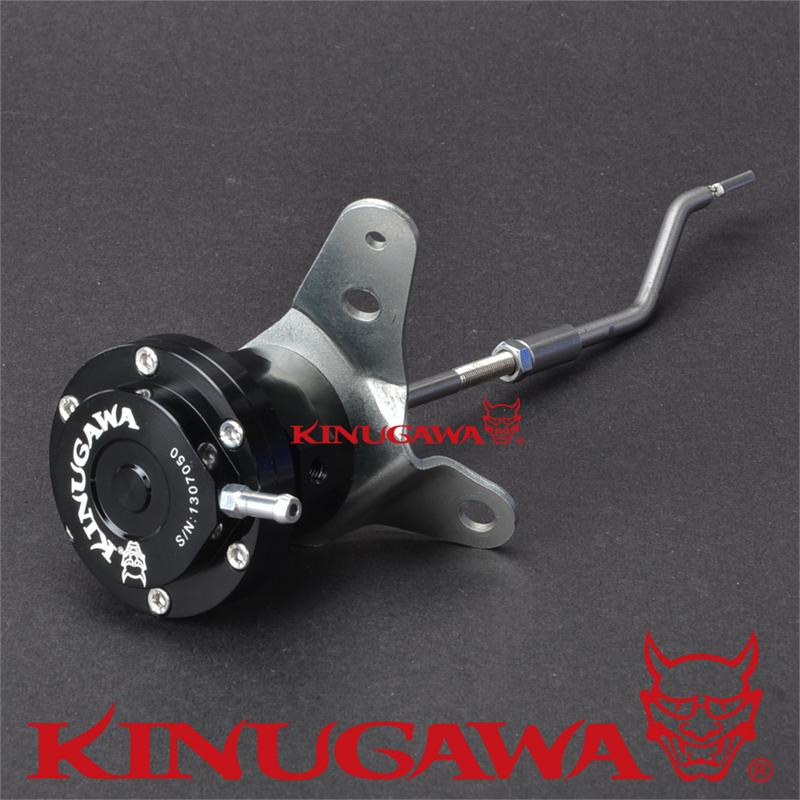 Kinugawa Adjustable Turbo Wastegate Actuator for Mitsubishi 4G63T TD05H EVO 3 VR4 / for DSM 1.0 bar / 14.7 Psi