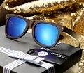 Ezreal 2017 new homens/mulheres artesanais de bambu óculos de sol óculos polarizados óculos óculos de sol de madeira