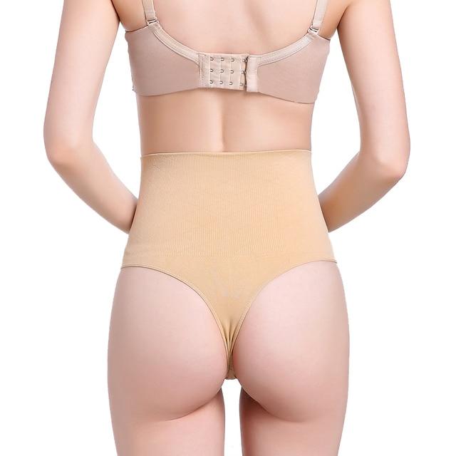 6c54709cac New Fashion High Waist Body Shaper Slimming Panty Shapewear Briefs Thong  Tummy Control G-String Shapewear Waist Trainer Corset