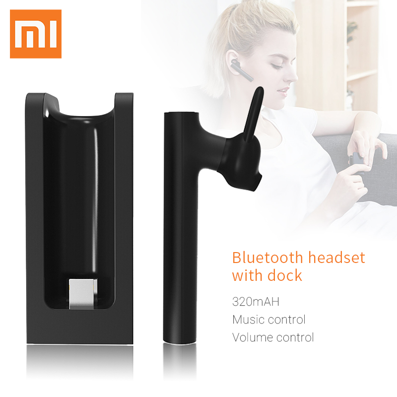 Xiaomi MI Bluetooth Headset Earphone Youth Edition Kit Charging Base Case 320Mah Battery For Xiaomi Bluetooth Headset Mijia Set