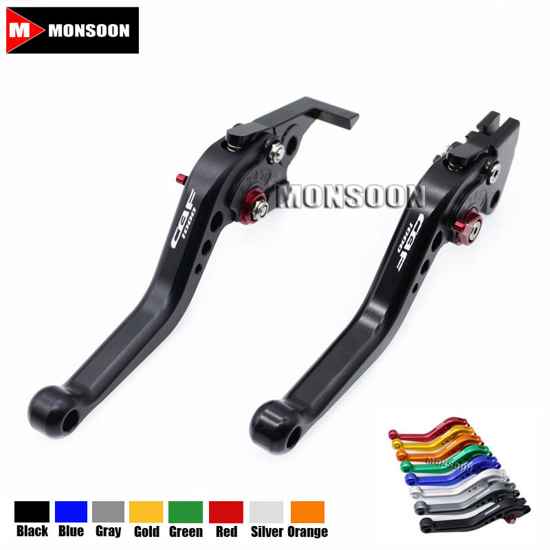 LOGO CBF1000 For HONDA CBF1000 CBF 1000 2006-2009 2007 2008 Motorcycle Accessories Aluminum short Brake Clutch Levers Black рычаги тросики и кабели для мотоцикла oem cnc honda cbf1000 2006 2007 2008 2009