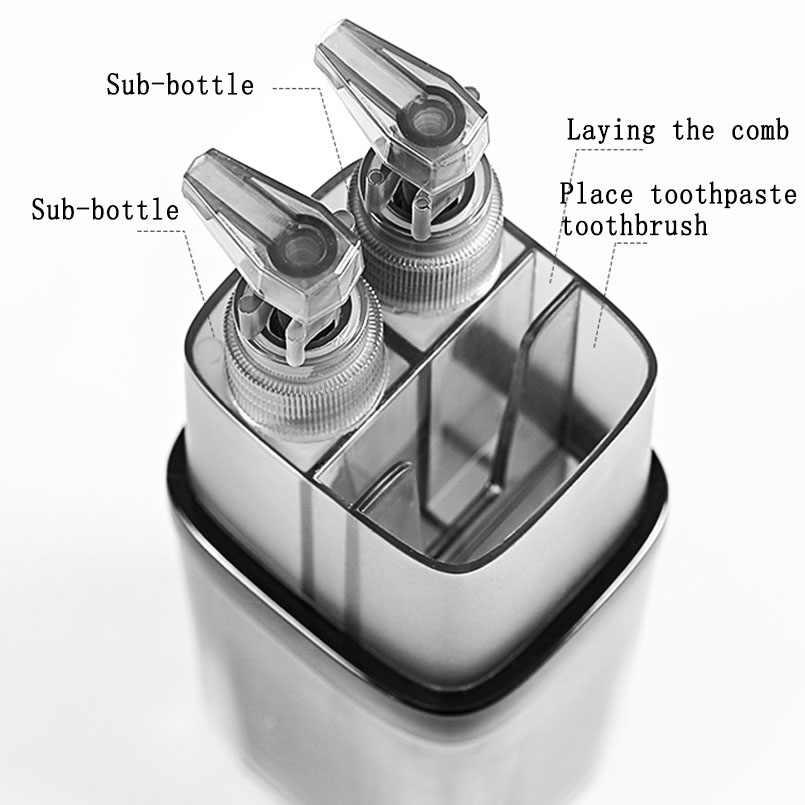 พลาสติกแปรงสีฟันแบบพกพาถ้วยกล่องชุด Camping แปรงสีฟันกรณีสุขภาพอุปกรณ์ห้องน้ำ Organizer